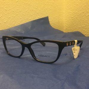Versace Women Eyeglasses VE3249 GB1 54 Black Frame